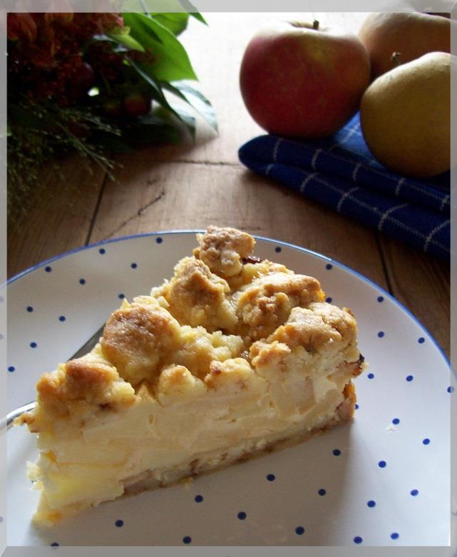 Apfel Rahm Kuchen