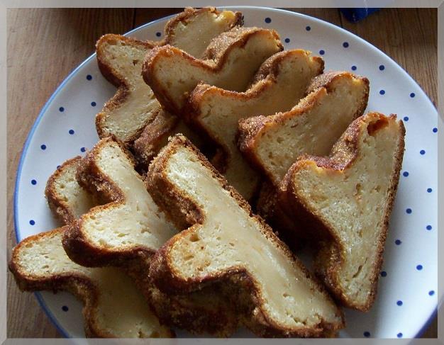 Apfel Quark Kuchen Aus Der Stollenform